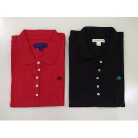 943106cf4248b Kit 2 Camisa Polo Feminina Aeropostale Original