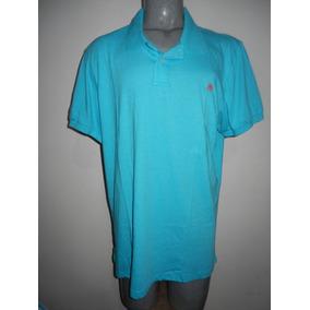 9f9f0648e Camisa Polo Aeropostale - Pólos Manga Curta Masculinas Azul no ...