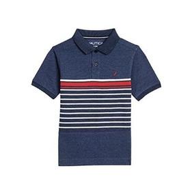 12fc49dcb91f3 Nautica N481750q Camisa Infantil Tipo Polo Talla M (5 6)
