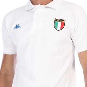 3221e658343b9 Playera Original Tipo Polo Hombre De Italia Kappa A La Moda.