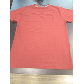 5938d9df55180 Camiseta Gola V Ralph Lauren - Original - Envio Imediato