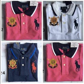 b41646682fc98 Polo Ralph Lauren Menino Kids Original Camisa Camiseta