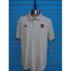 0e467ee1a6bd9 Camisa Polo adidas Beisbol Colegial Mississipi Nueva Origina
