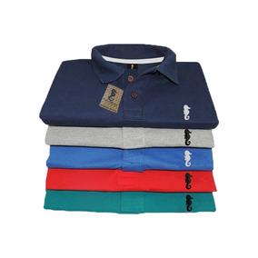 233d417e9b86b Kit De 5 Camisa Gola Polo Camiseta Atacado Revenda Promoção.