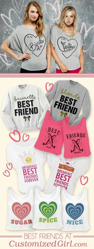polos best friends, diseños san valentin, personalizados