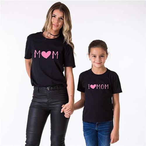 polos combo duo mamà & niña personalizado / holemi