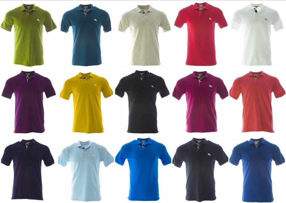 Polos Cuello Camisa 100% Algodón Piquet 8fbe078cb1861