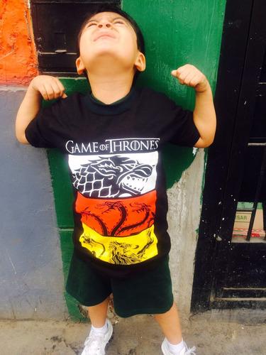polos de juego de tronos