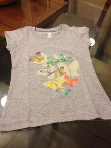 polos  de niñas 100 % algodón pima remato últimas prendas .
