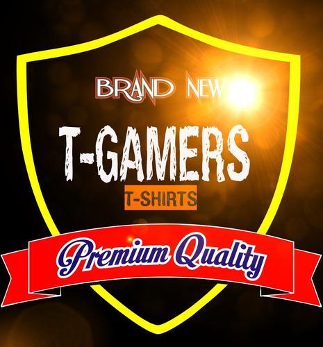 polos estampados exclusivos 100% algodón somos t-gamers