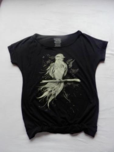 polos mujer algodón diseños exclusivos ave dark