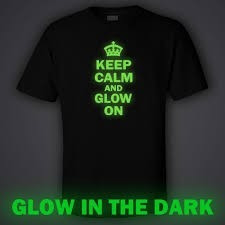 polos personalizados glow in the dark!