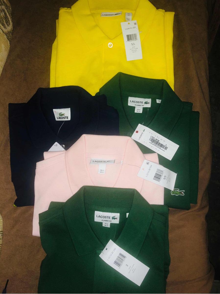 Polos Playeras Y Camisas Lacoste -   800.00 en Mercado Libre 26b1e0e115efb