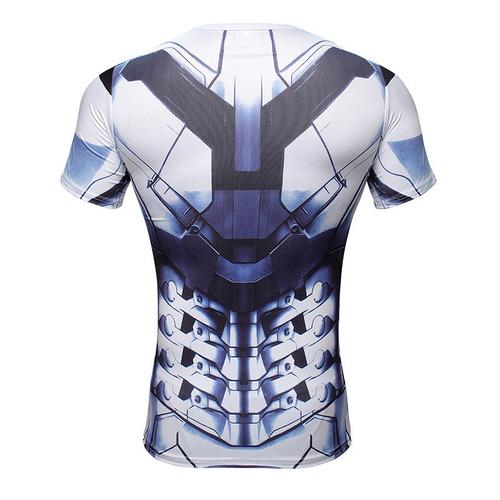 polos rashguards marvel - superior iron man