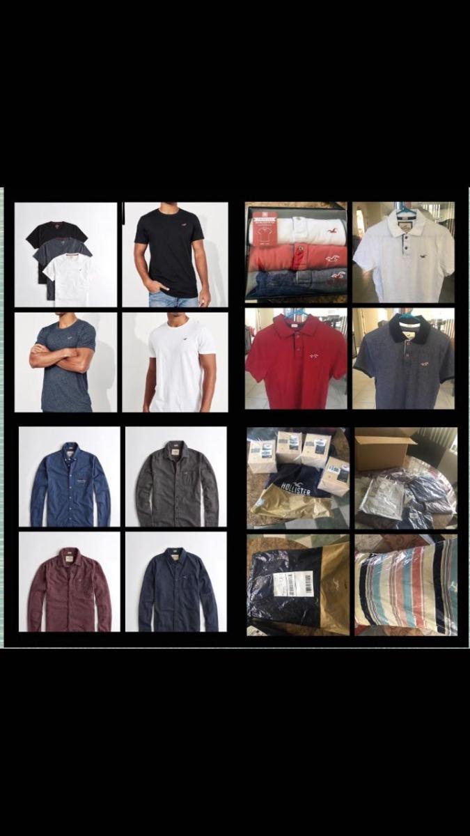 23f9419ba1 polos y camisas marca hollister originales talla m y l. Cargando zoom.