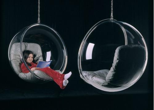 poltrona bubble chair - direto da fábrica