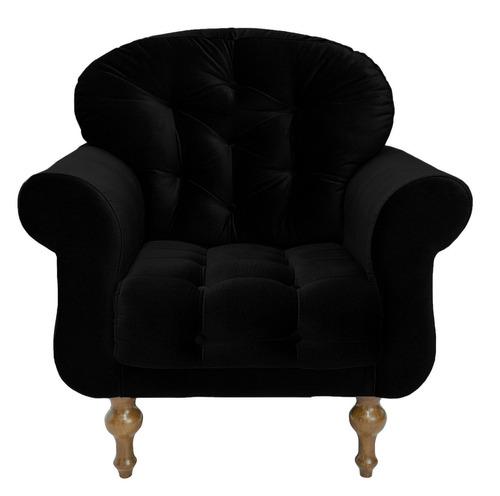 poltrona cadeira dani recepção sala de estar cores
