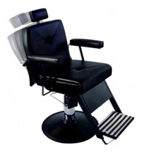 poltrona / cadeira de barbeiro hidr.recl. milão