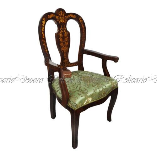 poltrona cadeira de braço est classico europeu c marquiterri