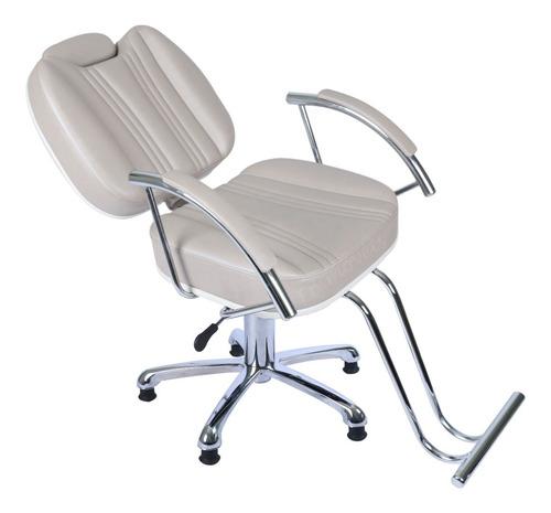 poltrona cadeira recl cabeleireiro, barbeiro frete gratis