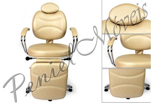 poltrona cadeira reclinavel hidraulica maquiagem pigmentação