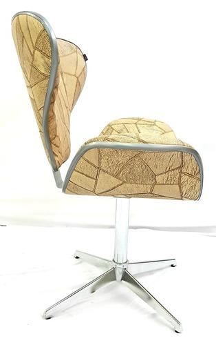 poltrona cadeira robustica para espera