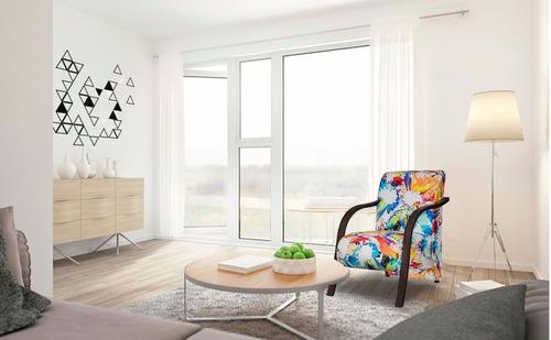 poltrona decorativa cadeira sala recepção braço madeira 1500