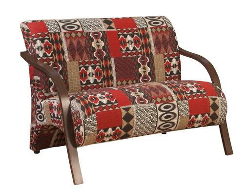 poltrona decorativa namoradeira - cadeira, sala, recepção