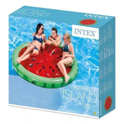 poltrona espreguiçadeira gigante melancia piscina- intex