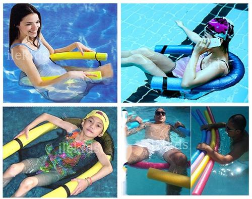 poltrona flutuante piscina e mar cadeira boia de espaguete