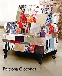poltrona gioconda patchwork
