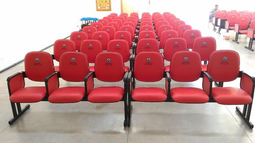 poltrona para auditório ,igreja,sala de treinamento etc.