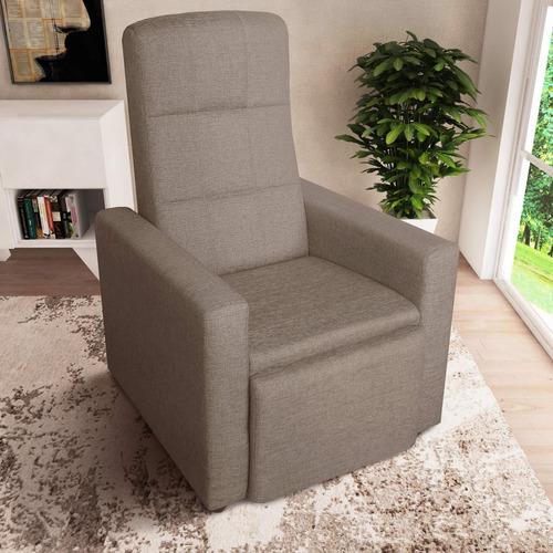 poltrona reclinável diana delare móveis marrom e