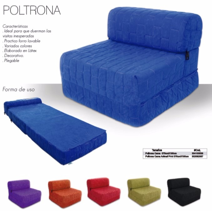 Poltrona sofa cama sofacama regal individual bs for Sofa cama personal