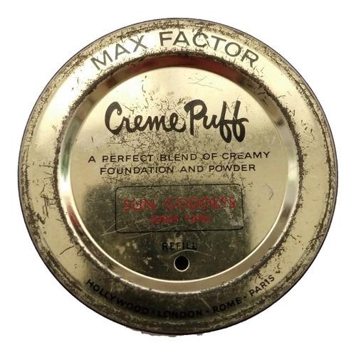 polvera de larta max factor , creme puff