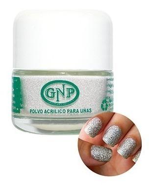 polvo acrilico gnp 15 gr plateado