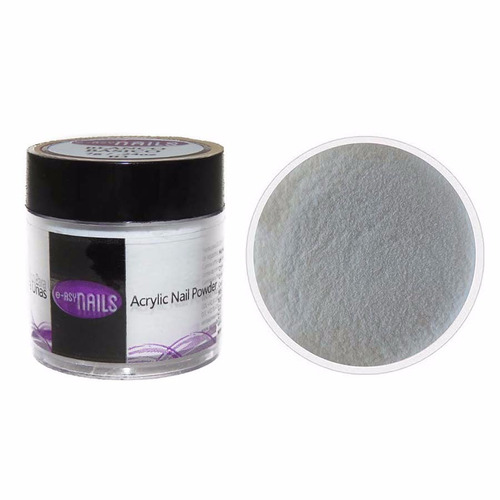 polvo acrílico para uñas color blanco básico 7g easy nails