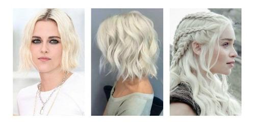 polvo cabello decolorante