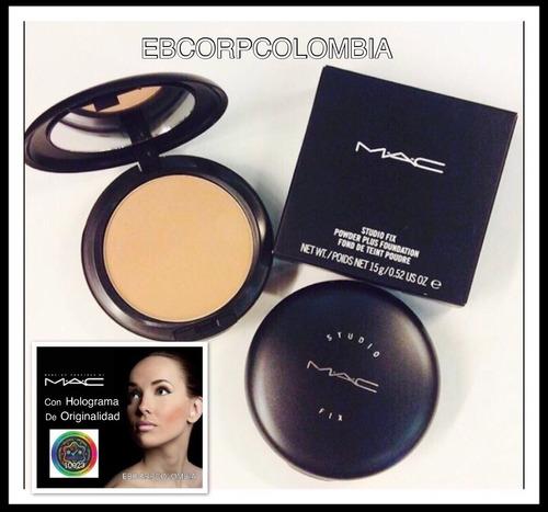 polvo compacto mac studio fix mac cosmetics original