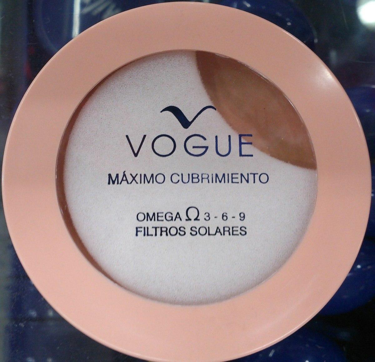 Polvo Compacto Máxima Cobertura Vogue Original - Bs. 20.500,00 en ... f46a41c184