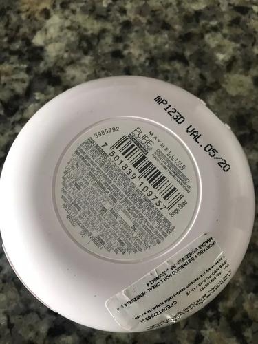 polvo compacto  maybelline original