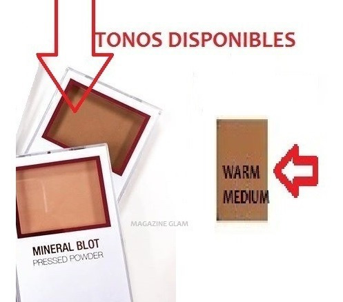 polvo compacto mineral city color tono  medium en oferta