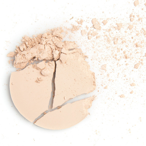 polvo compacto pure makeup 3d powder maybelline