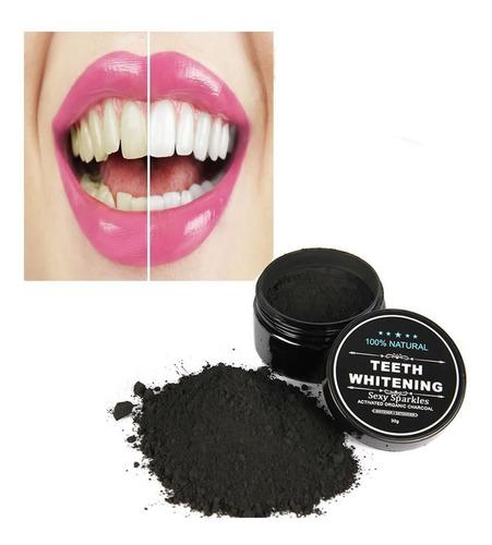 polvo de blanqueamiento de dientes de carbon activadocarbo