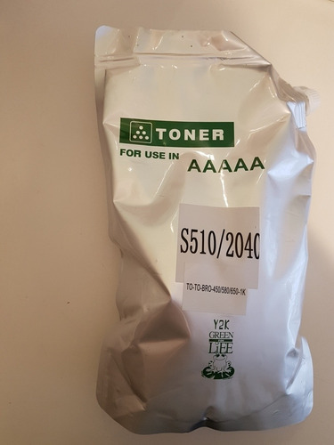polvo de toner compatible para brother tn 1060 - 1 kg