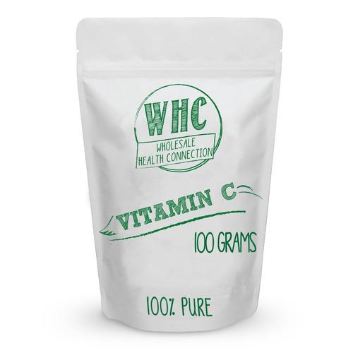 polvo de vitamina c 100 g (100 porciones) | ácido ascórbico