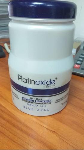polvo decolorante azul marca platinoxide importado
