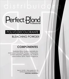 polvo decolorante blanco 700 gramos perfect blond envios