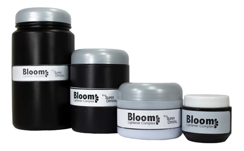 polvo decolorante bloom de 800gr  super crystal