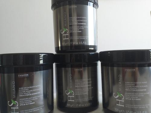 polvo decolorante con olaplex incorporado italiano 500gr 25v